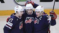 Hokejisté USA se mohou radovat z bronzové medaile, kterou ukořistili po výhře na nájezdy nad Finskem