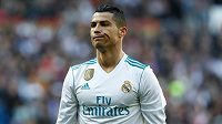 Hvězda Realu Madrid Cristiano Ronaldo.