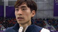 Olympijský vítěz v rychlobruslení I Sung-hun.