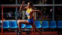 Osmnáctiletá ukrajinská výškařka Jaroslava Mahučichová předvedla parádní výkon (archivní foto)