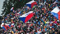 Biatlonoví fanoušci v rámci Světového poháru ve Vysočina Areně v Novém Městě na Moravě. Dočkají se závodů i letos?