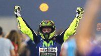Pro 109. vítězství v kariéře a 83. v nejsilnější třídě si na úvod své dvacáté sezóny v MS dojel v Kataru šestatřicetiletý Valentino Rossi.