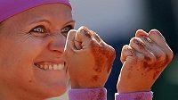 Lucie Šafářová jásá, v sobotu si v Paříži zahraje o svou první grandslamovou trofej ve dvouhře.