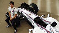 Lance Stroll, pilot stáje Williams pro příští sezónu.