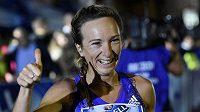Eva Vrabcová-Nývltová si v sobotu při pražské Birell Grand Prix připsala vítězství mezi českými běžkyněmi.