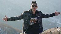 Jeremy Lin na Velké čínské zdi