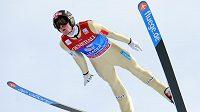 Norský skokan na lyžích Anders Jacobsen ovládl závod v Garmisch-Partenkirchenu.