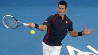 Srbský tenista Novak Djokovič v Abú Zabí přemožitele nenašel.