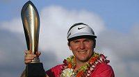 Russell Henley z USA vyhrál hned při svém debutu golfový turnaj na Honolulu.