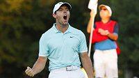 Golfista Rory McIlroy vyhrál v rozstřelu v Atlantě poslední turnaj sezóny na PGA.