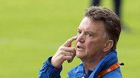 Současný trenér Nizozemska a budoucí kouč Manchesteru United Louis van Gaal