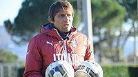 Trenér italské fotbalové reprezentace Antonio Conte.