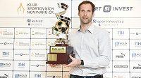 Brankář Petr Čech během vyhlášení ankety Klubu sportovního novinářů Zlatý míč.