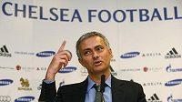 José Mourinho, staronový kouč fotbalistů Chelsea.