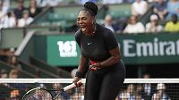 Serena Williamsová na French Open.