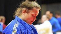 Judistka Alice Matějčková na mistrovství světa vypadla v prvním kole kategorie do 78 kilogramů.