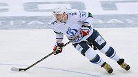Hvězdný Alexandr Ovečkin válí v době výluky v NHL v moskevském Dynamu.