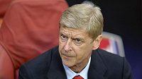Trenér Arsenalu Arséne Wenger