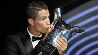 Cristiano Ronaldo s cenou.