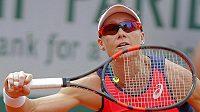Samantha Stosurová během pařížského French Open.
