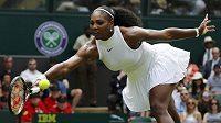 Serena Williamsová potvrdila v úvodním vystoupení na letošním Wimbledonu roli favoritky.