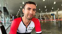 Cyclista Badreddin Ahmad Wais ze Sýrie na MS v Bergenu.