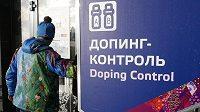 Stanice dopingové kontroly při ZOH v Soči - ilustrační snímek.
