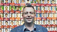 Šéf obchodní a marketingové firmy STES Martin Malík, který se uchází o post předsedy Fotbalové asociace ČR.