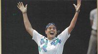 Španělská tenistka Conchita Martinezová v dobách aktivní kariéry.