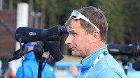 Norský trenér českých biatlonistek Egil Gjelland.