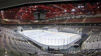 Hokejová arena v Minsku letos světovou elitu nepřivítá.
