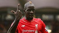 Liverpoolský Mamadou Sakho.
