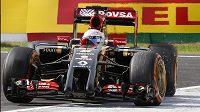 Pilot stáje Lotus Romain Grosjean