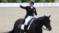 Německá jezdecká hvězda Isabell Werthová.