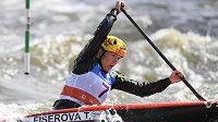 Kanoistka Tereza Fišerová skončila na kanále v Troji třetí ve finále Světového poháru ve vodním slalomu