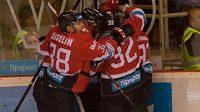 Hokejisté Banské Bystrice získali potřetí za sebou titul ve slovenské extralize