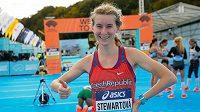 Česká běžkyně Moira Stewartová