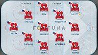 Ideální sestava českého hokejového týmu pro první hrací den