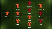 Jágr složil tým pouze z hráčů Španělska a Nizozemska.