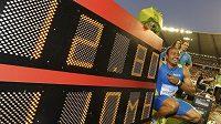 Americký sprinter Aries Merritt vytvořil na mítinku Diamantové ligy v Bruselu světový rekord v běhu na 110 m překážek.