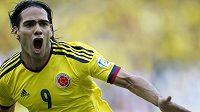 Kolumbijec Radamel Falcao střílí jeden gól za druhým. Naposledy se radoval ze dvou branek do sítě Paraguaye.