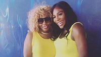 Serena Williamsová s matkou.