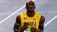 Usain Bolt si na dvoustovce v Riu doběhl pro letošní druhé zlato.