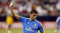 Záložník Realu Madrid Cristiano Ronaldo.