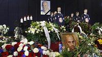 Pohřeb slovenského hokejisty Pavola Demitry