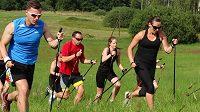 Nordic running, běhání s holemi. Neznáte? Poznáte.