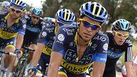 Alberto Contador během Vuelty.