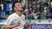 Libor Kozák se za Lazio Řím trefil proti Bergamu.