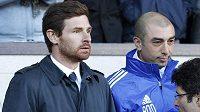 Nyní už bývalý trenér fotbalistů Chelsea Andre Villas-Boas