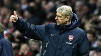 Spokojený trenér Arsenalu Arséne Wenger